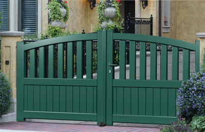 aluminium modern gates. Black Bedroom Furniture Sets. Home Design Ideas