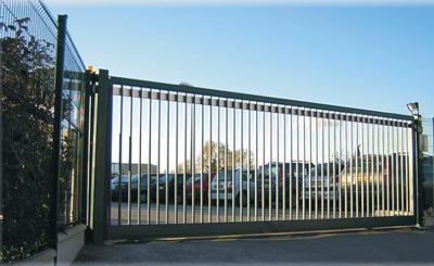 sliding and swing gates for industrial use. Black Bedroom Furniture Sets. Home Design Ideas