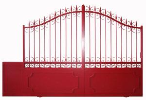 peindre portail fer elegant peindre portail fer sans trace comment faire un portail en fer. Black Bedroom Furniture Sets. Home Design Ideas