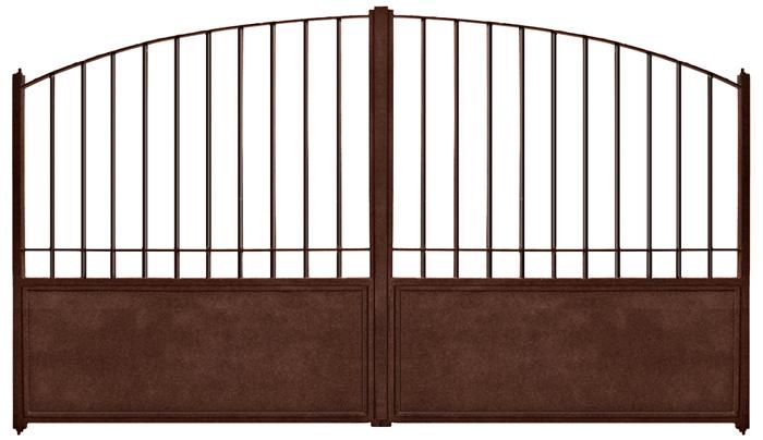 portail ouvrant fer beausset. Black Bedroom Furniture Sets. Home Design Ideas